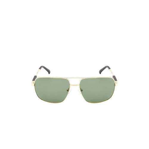 Ted Smith Unisex Rectangle Polarised and UV Protected Sunglasses TS-NC-P201937