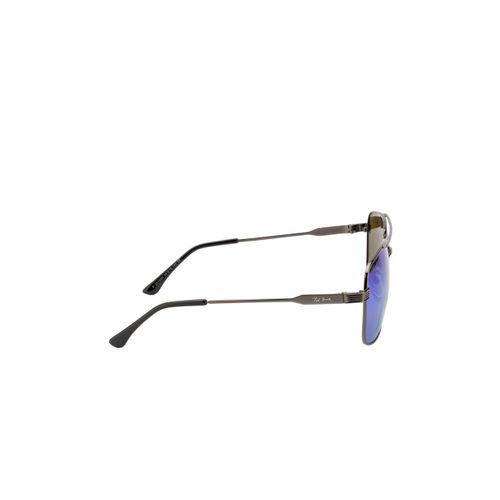 Ted Smith Unisex Aviator Polarised and UV Protected Sunglasses TS-NC-P201920