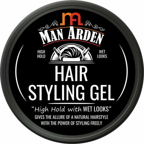 Man Arden Hair Styling Gel - High Hold with Wet Looks Hair Gel(50 g)