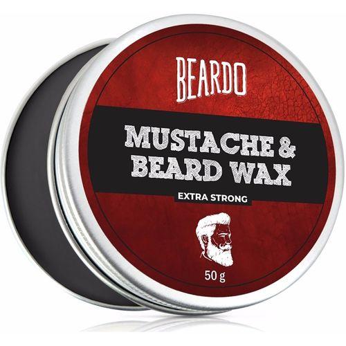 Beardo Beard & Mustache Wax Extra Strong 50 Gm Hair Wax(50 g)