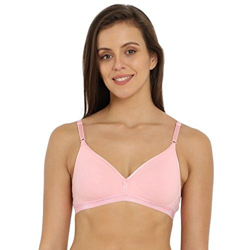 Jockey Women's Seamless Bra (1581-0105-CANDY Pink_32B)
