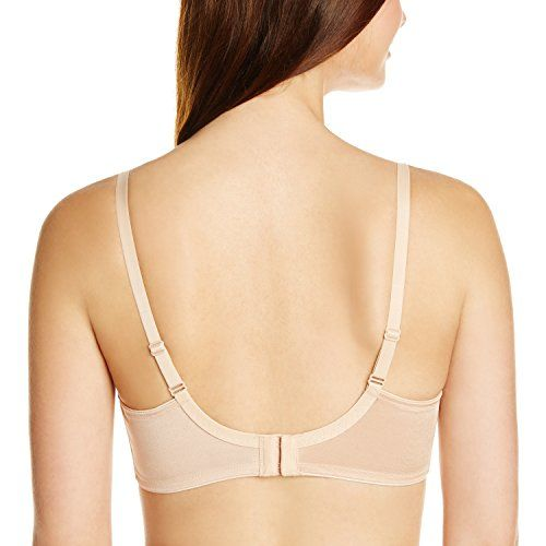 Triumph International Seamless Minimizer Bra with Lace(150I669_Neutral Beige_34 E)