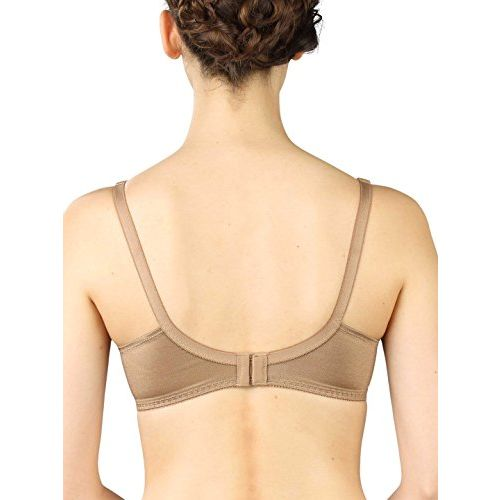 Triumph International Non Padded Non Wired Support Bra(202I610 FP C 34/75_Chestnut Brown)
