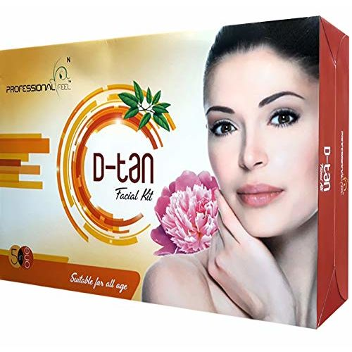 professional feel Anti Tan Lotus D-tan Best for Beauty Parlour Facial Kit for Men and Women Glowing Skin Care Treatment/Instant Glow for Beauty Radiance Booster