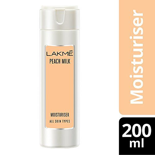 LAKMÉ Lakme Moisturizer Body Lotion, Peach Milk, 200ml