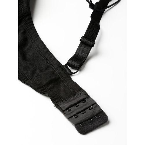 Sztori Black Solid Non-Wired Lightly Padded Everyday Bra N00STNPD2PK/TN4040
