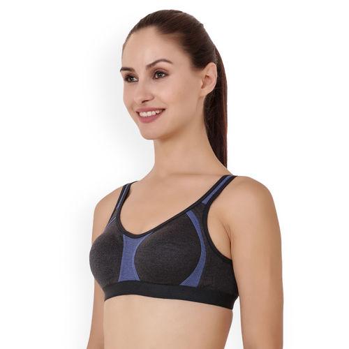 Floret Pack of 2 Sports Bra Roxie_Grey-Grey_40B