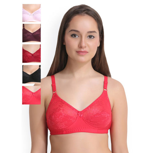 Leading Lady Pack of 6 Full Coverage Everyday Bras LLNANCY-6