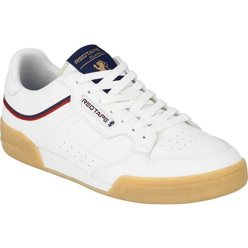 Red Tape Sneakers For Men(Off White)