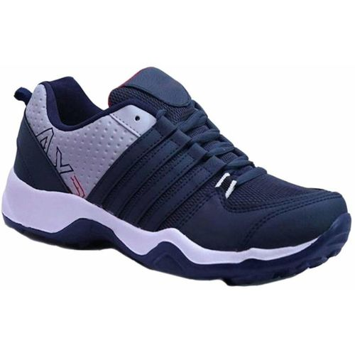 Chevit 445 Blue Synthetic Lace Up Running Shoes