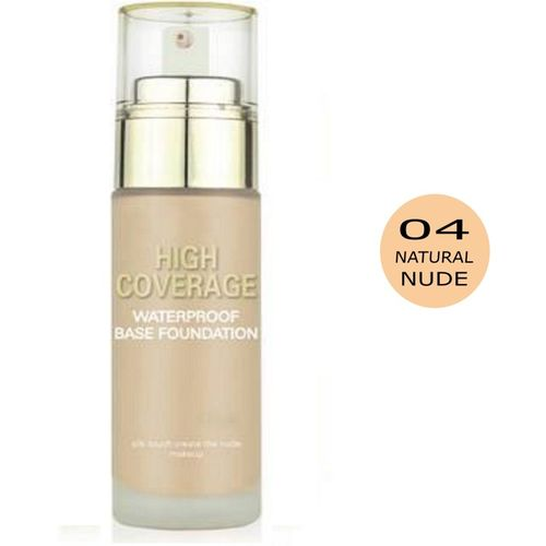 Swiss Beauty High Coverage Waterproof Matte Effect Colour Correction Base Foundation, Natural skin , 60g Foundation(Natural skin , 60 g)