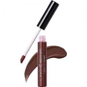 Lakme Forever Matte Liquid Lip Colour -(Brown Espresso, 5.6 ml)