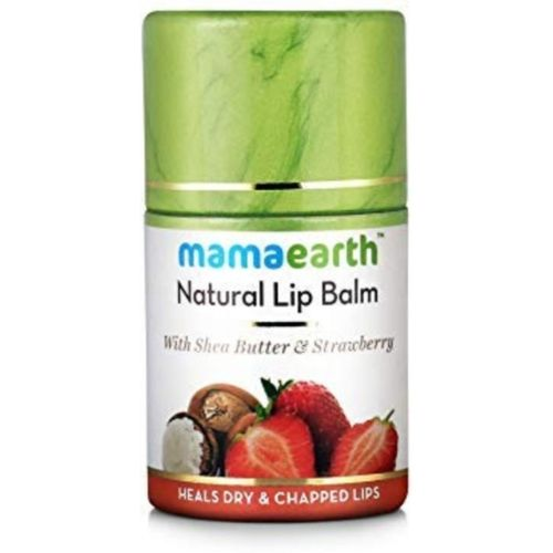 Mamaearth Natural Lip Balm for women with Shea Butter & Strawberry Strawberry(Pack of: 1, 4.5 g)