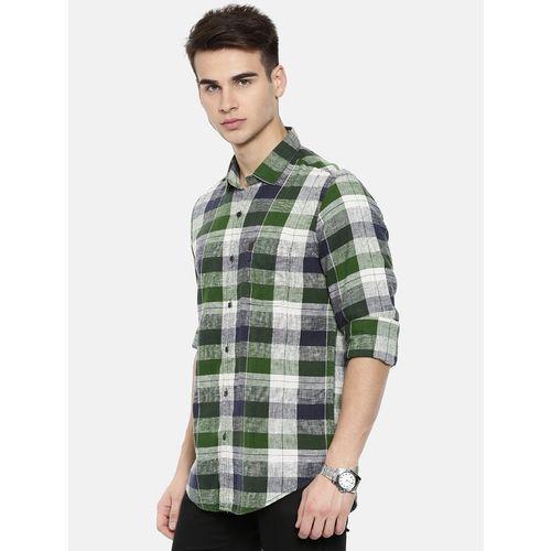 IDC multicolor checkered casual shirt