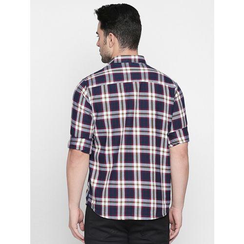 Solemio multi colored cotton casual shirt