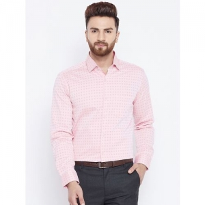 Canary London pink printed formal shirt