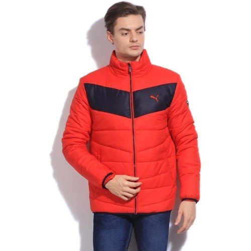 Buy Puma Full Sleeve Striped Men's Quilted Jacket online | Looksgud.in : puma quilted jacket - Adamdwight.com