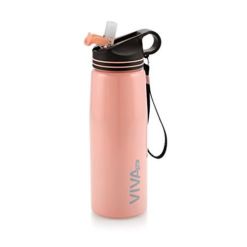 VIVA h2o Stainless Steel Water Bottle for Kids, Teens, Travellers, Camping (900 ml)