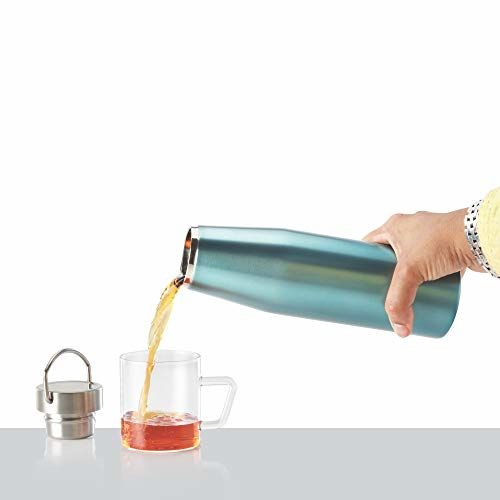 Borosil Stainless Steel Vivo- Vacuum Insulated Flask Water Bottle, 500ML
