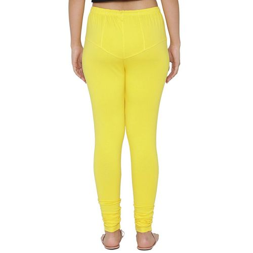 N-Gal yellow solid churidar