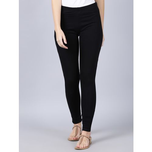 V2 VALUE & VARIETY black cotton leggings