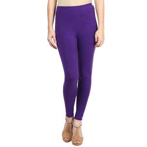 Sakhi Sang purple cotton leggings