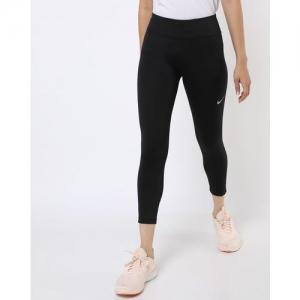 NIKE Black Calf-Length Leggings
