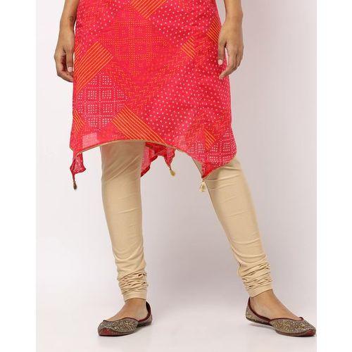 Rangriti Mid-Rise Churidar with Elasticated Waist