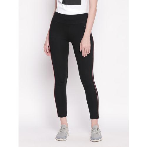 Ajile by Pantaloons Black Cotton Trackpants