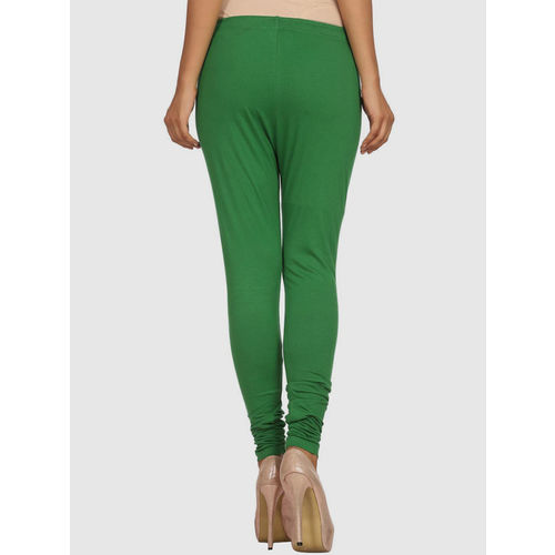 Rangriti Green Cotton Leggings