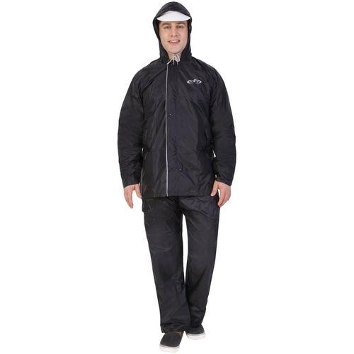 Hilife Solid Men Raincoat