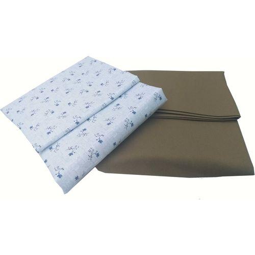 DELTA THREADCRAFT Cotton Printed Shirt & Trouser Fabric(Unstitched)