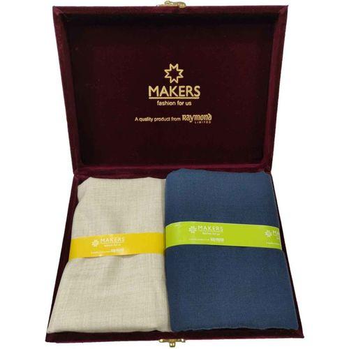 Raymond Poly Viscose Self Design Trouser Fabric(Unstitched)