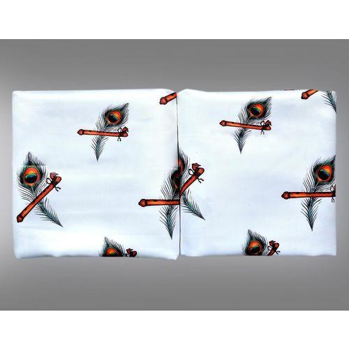 Jolly Creation Cotton Silk Blend Floral Print Shirt Fabric(Unstitched)