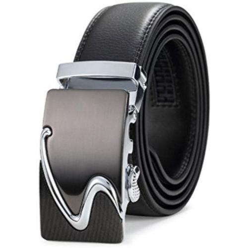 Satyam Kraft Boys Party, Formal, Casual Black Artificial Leather Reversible Belt