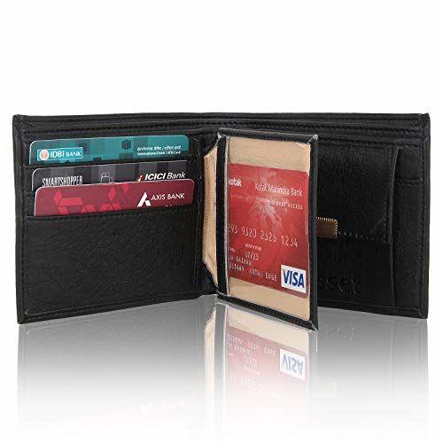capriff Black Men's Wallet