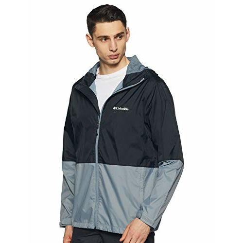Columbia Men's Windcheater (RM3081_Black Assorted_L)(Colors & Print May Vary)