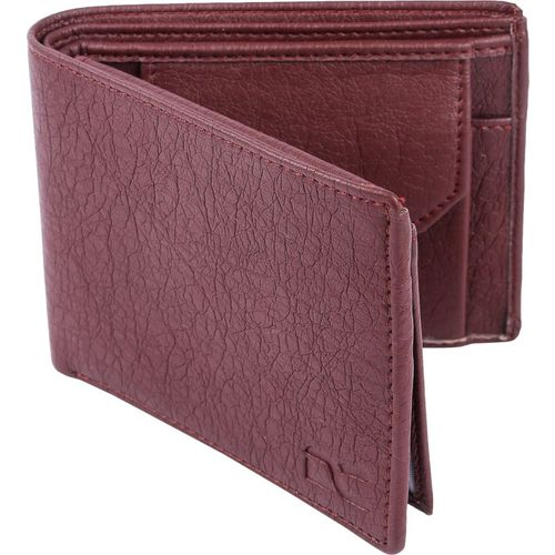 Dezire Crafts Men Formal, Casual Brown Artificial Leather Wallet(6 Card Slots)