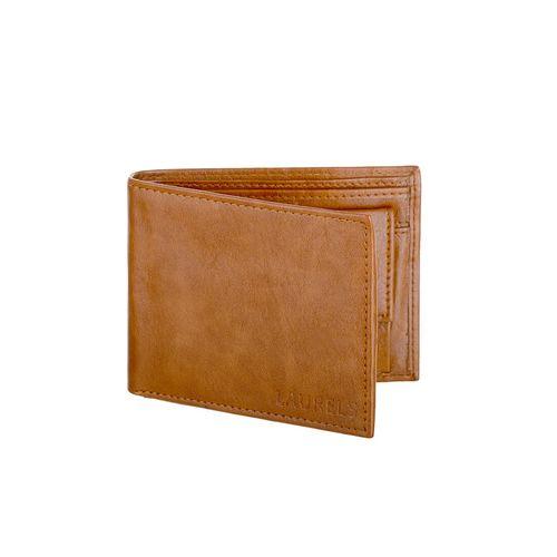 Laurels tan leather wallet