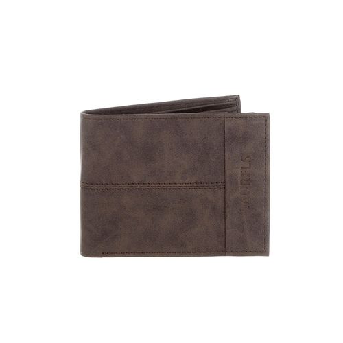 Laurels brown leather wallet