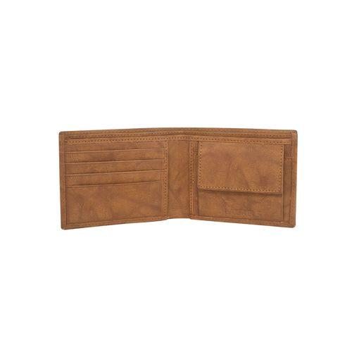 Laurels tan leatherette wallet