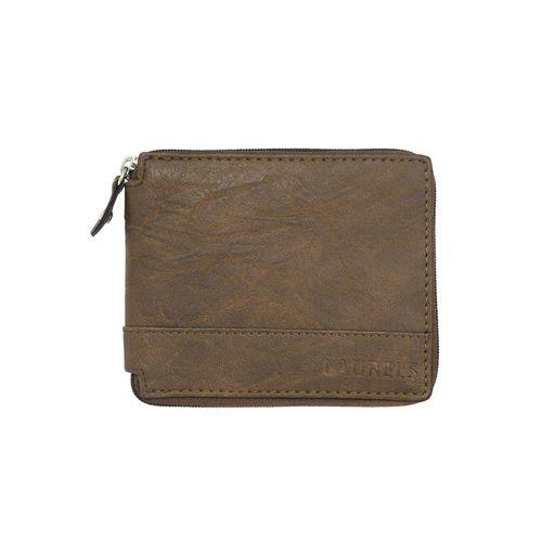 Laurels brown leather wallet