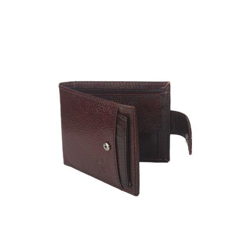 Krosshorn brown leather wallet