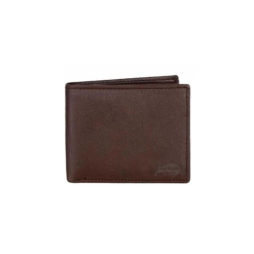 JusTrack brown leather wallet