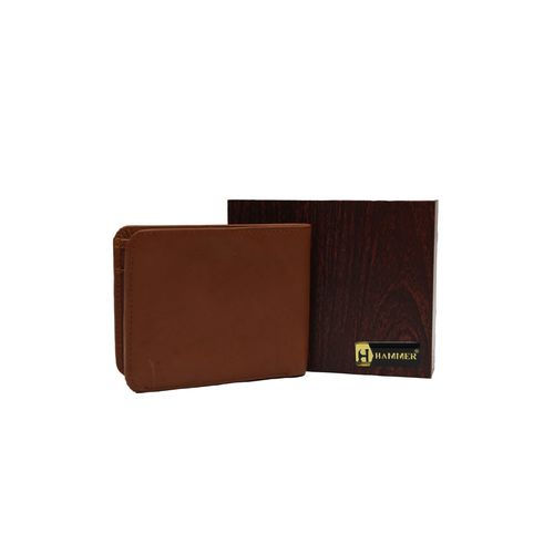 Hammer brown leather wallet