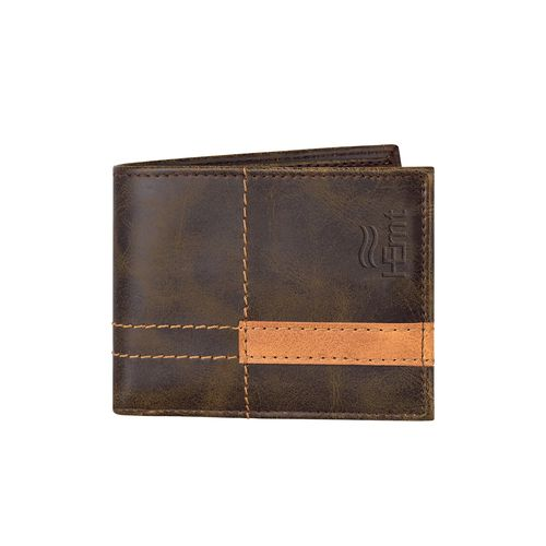 Hemt brown leather wallet