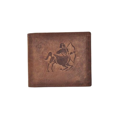 Tamanna brown leather wallet