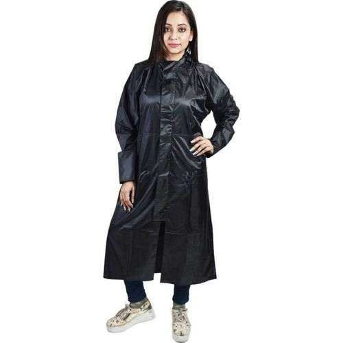 DECOROID Solid Women Raincoat