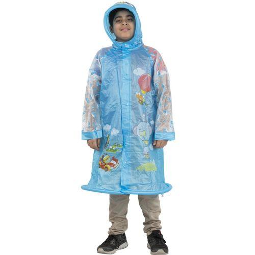 Burdy Animal Print Boys Raincoat