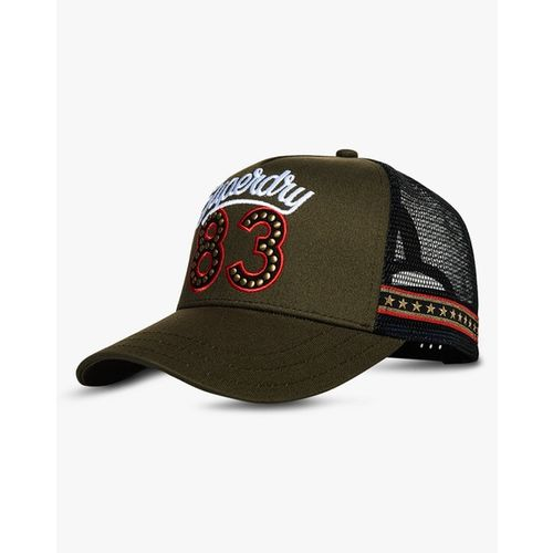 SUPERDRY Baseball Cap with Embroidery Branding